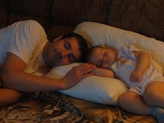 спим с папой