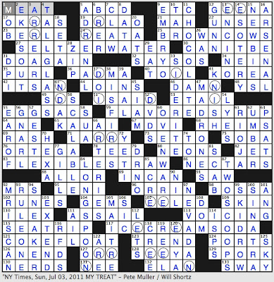 Small Island Crossword  Letters