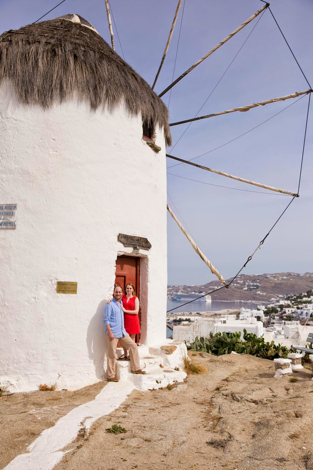 mykonos greece windmills