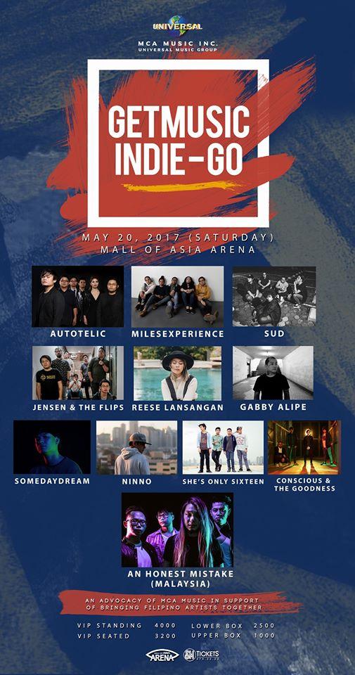 GetMusic Indie-Go