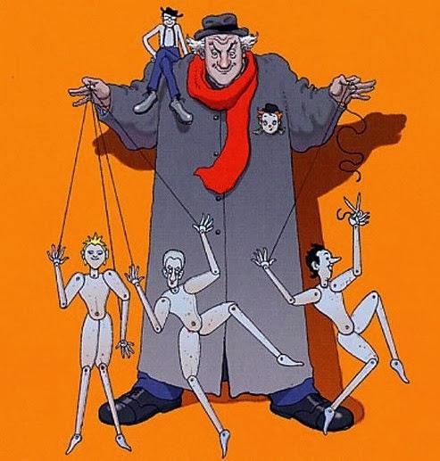 Fellini dirigeait ses acteurs comme  un marionnettiste, d'une main de fer.
