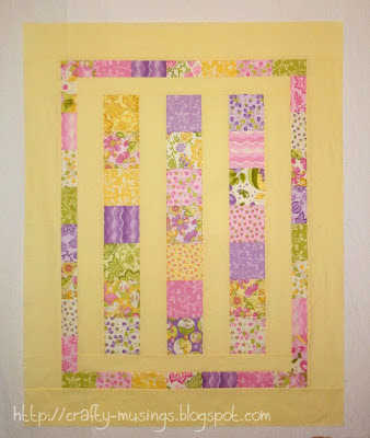 completed quilt top featuring Eden by Lila Tueller