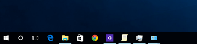 step to Removing the Cortana Search Box from the Taskbar