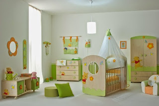 cool baby nursery room furniture winnie the pooh