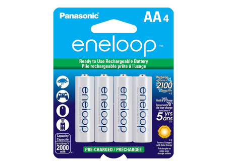 Panasonic Eneloop Rechargable Batteries