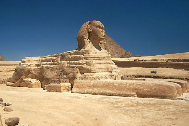 The True Age Of The Sphinx And Did The Earth's Axis Tilt Violently in 2345 BC