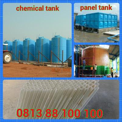 tangki kimia fiberglass, chemical tank, frp tank, lamela, honey comb, septic tank biotech, biofi