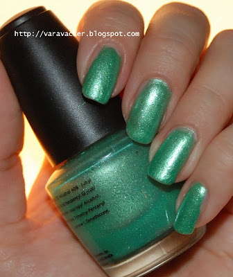 naglar, nails, nagellack, nail polish, frankning, grönt, grön onsdag