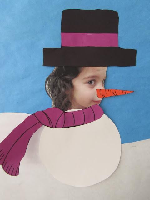 pre school snowmen snowman for classroom