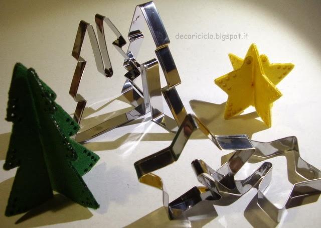 Decoriciclo decorazioni tridimensionali in feltro con l - Decorazioni pirografo ...