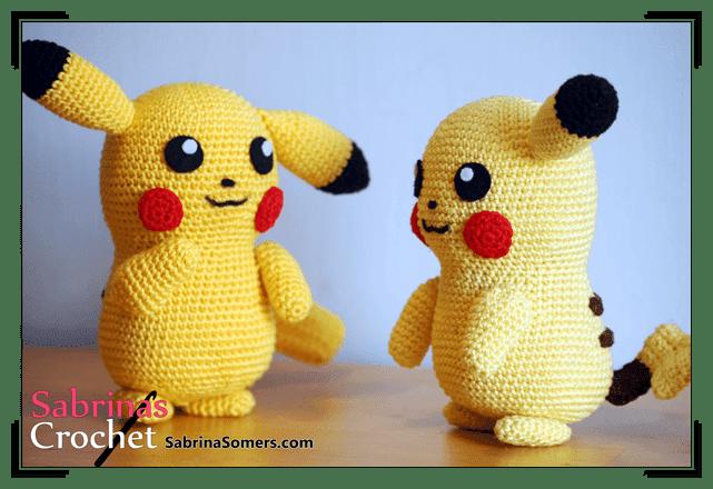 Free Pattern Pikachu Pokemon Free Amigurumi And Crochet Patterns