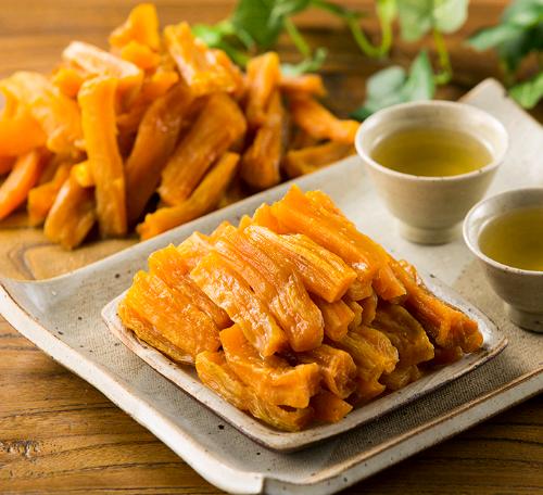 Thin Cut Dried Sweet Potato
