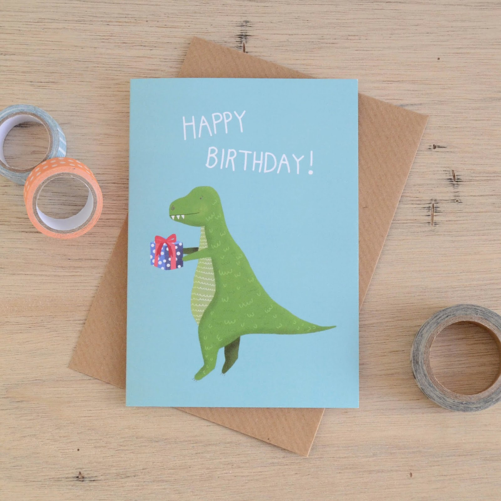 http://folksy.com/items/5725591-T-Rex-Birthday-Card