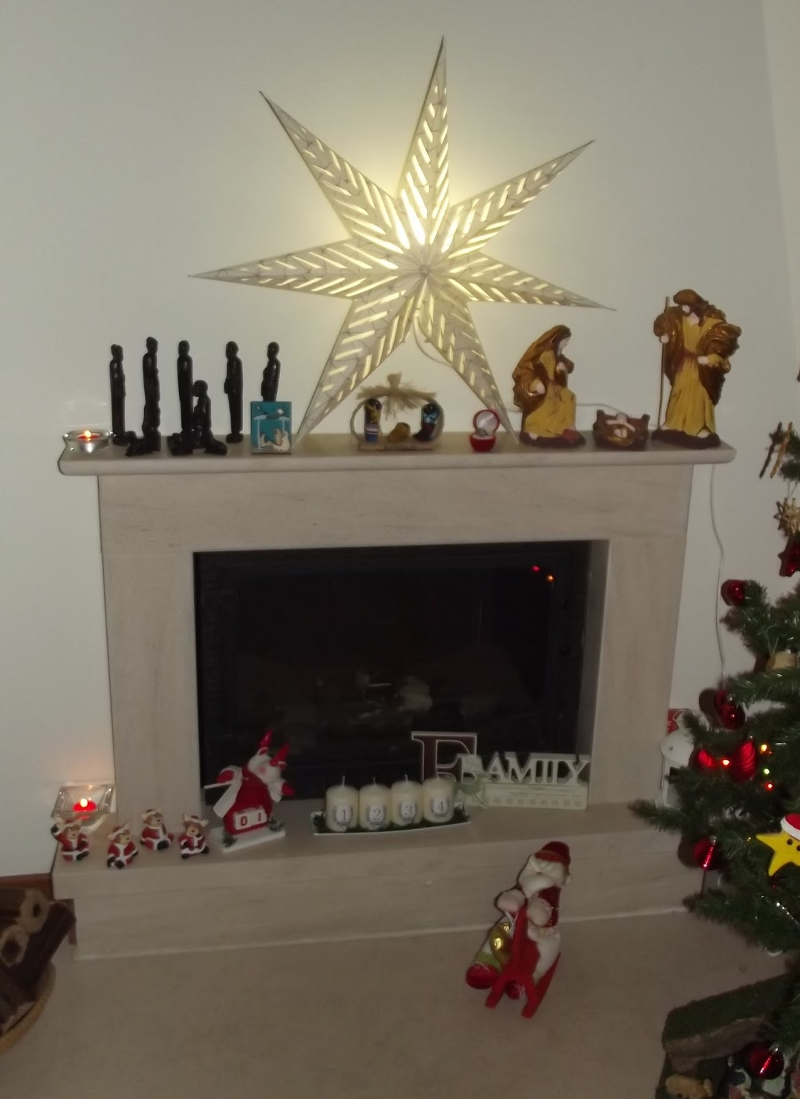 Adhesivo De Bicicletas ~ Koisas da Minha Casa e n u00e3o só!!! Pronta para receber o Natal