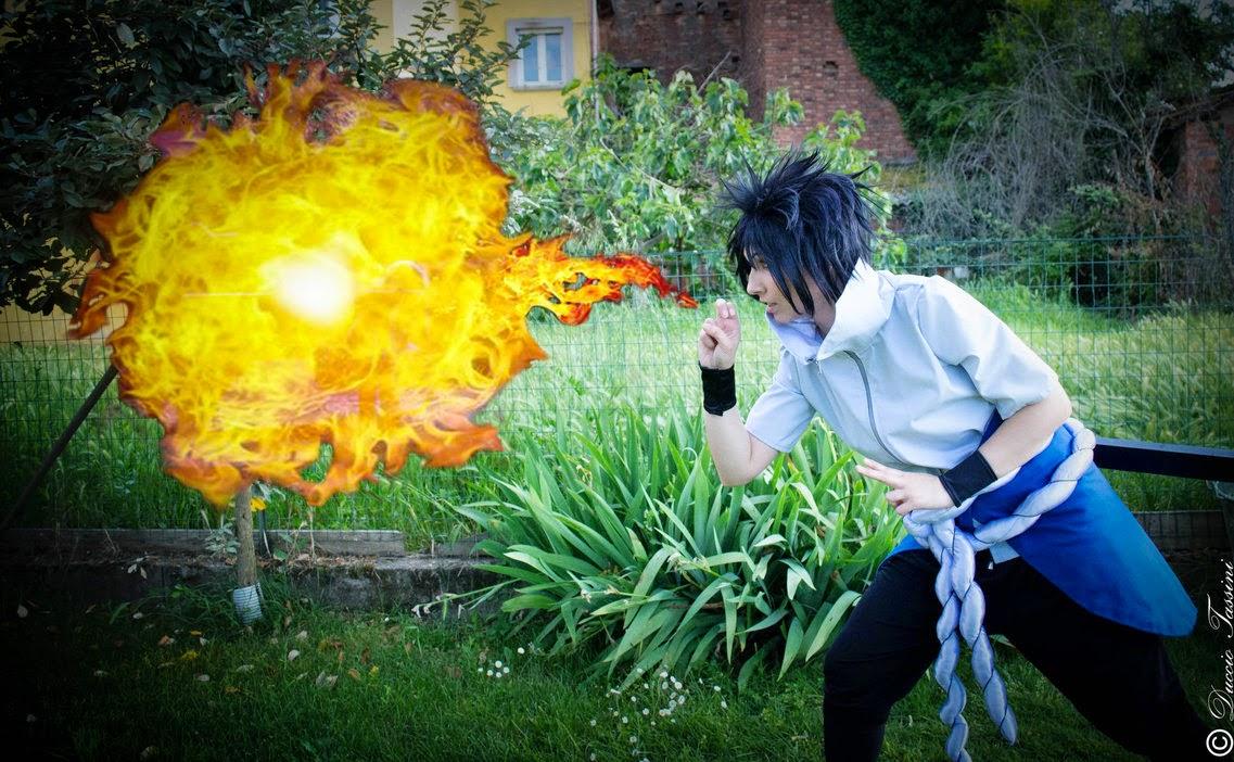 Sasuke Uchiha _ Naruto Shippuden Cosplay II
