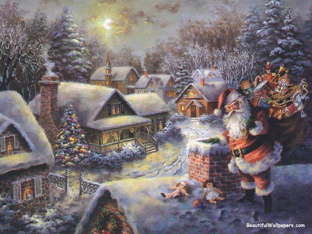 Рождество в россии открытка