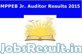 MPPEB Junior Auditor Results 2015