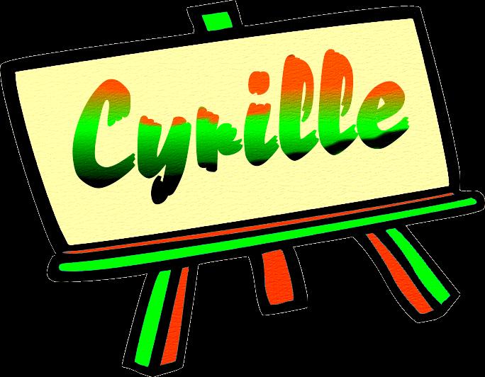 Bon Dimanche CYRILLE