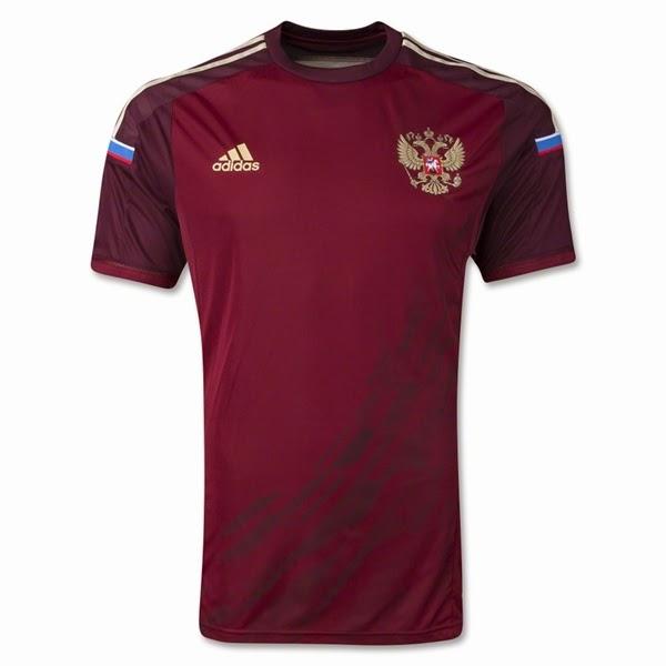Jersey Negara Russia - Piala Dunia 2014