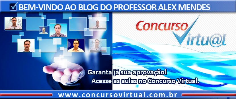 Blog do professor Alex Mendes