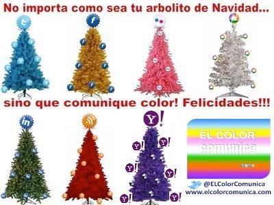 EL COLOR COMUNICA: Historia del primer Árbol de Navidad @ElColorComunica