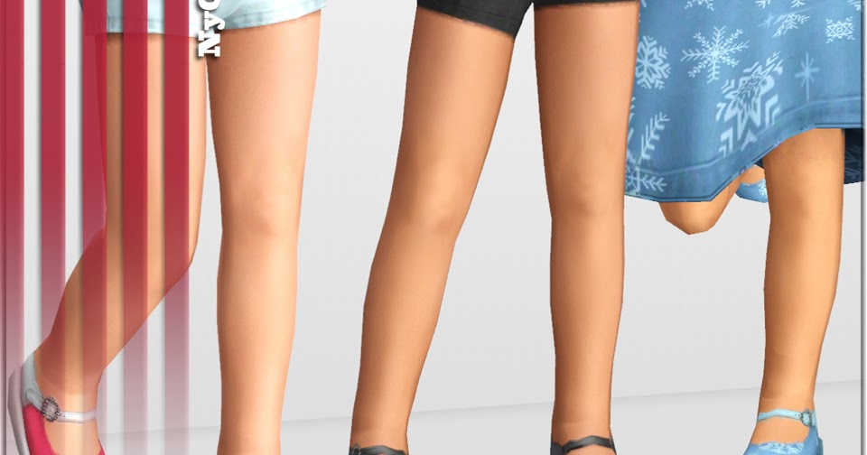 Empire sims 3 jeweled mary janes for toddlers by nygirl