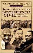 """El libro que inspiró la lucha de Mahatma Gandhi: """"Desobediencia Civil"""", de Henry D. Thoreau"""
