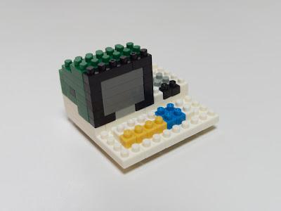 ナノブロックで作ったMZ-80K2E