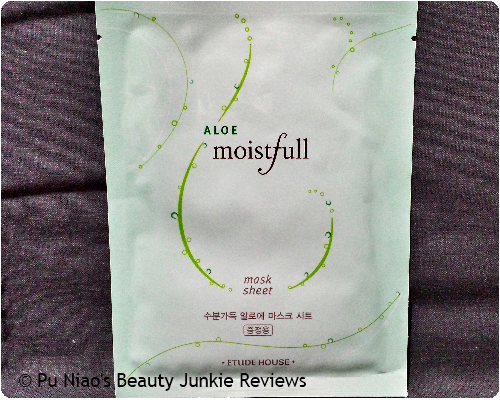 Etude House Moistfull Aloe Mask Sheet