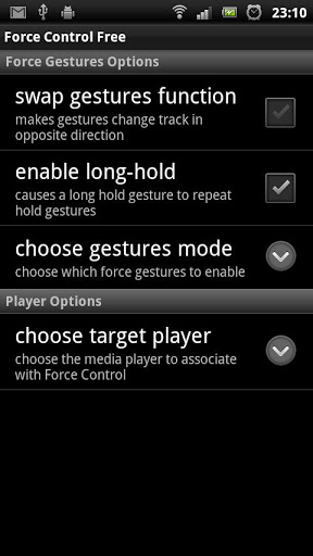 Force Control v1.3