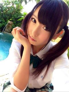 Chika Arimura, Foto Bintang Porno Jepang di Bali