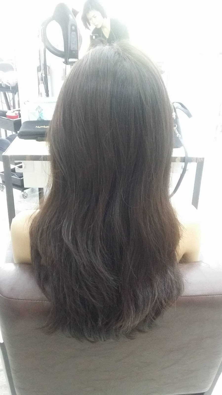 how to get curtained hair