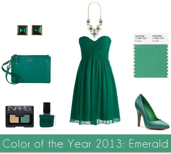 Vestido verde com prata ou dourado