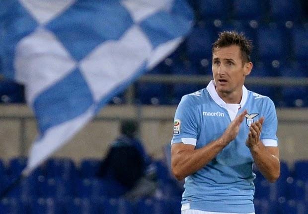 Miroslav Klose Segera Dapat Kontra Baru di Skuad Lazio