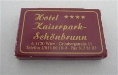 Hotel Kaiser Park - Schönbrunn - Vienna