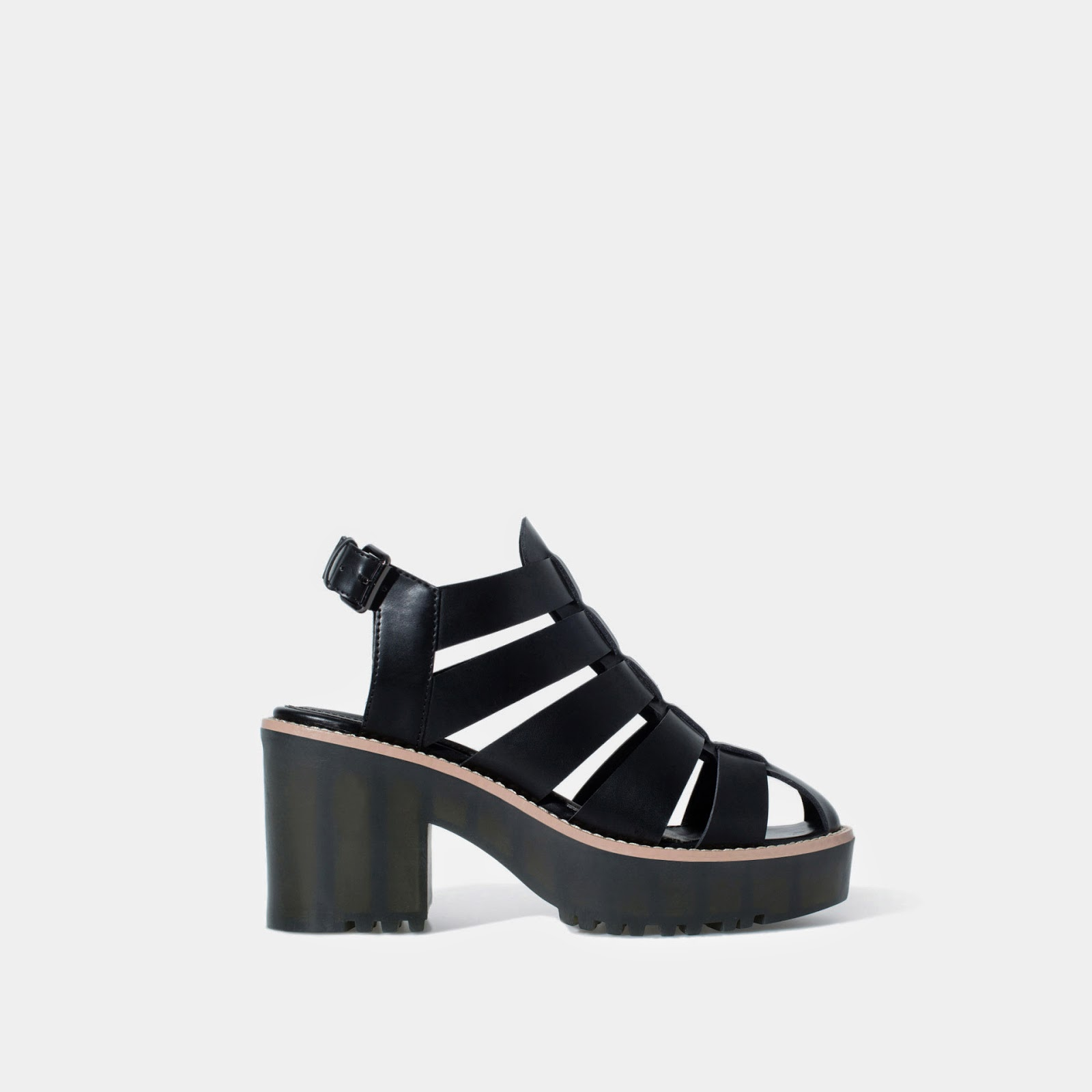 Cangrejera tacón, Zara, shoes, shoes adict