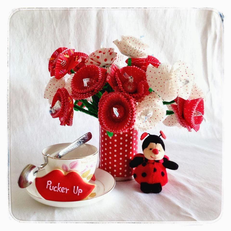 Lolovie Valentines Day Flower Bouquet