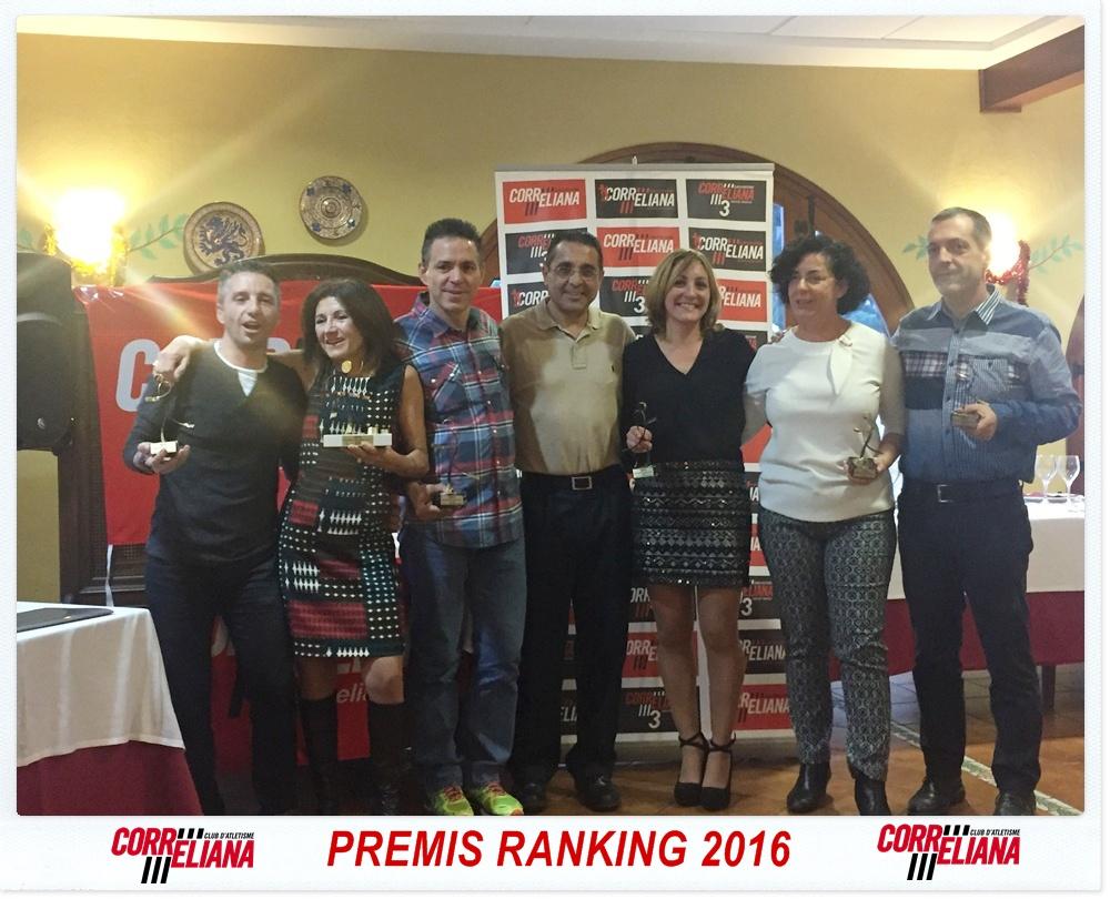 PREMIS RANKING CORRELIANA 2016