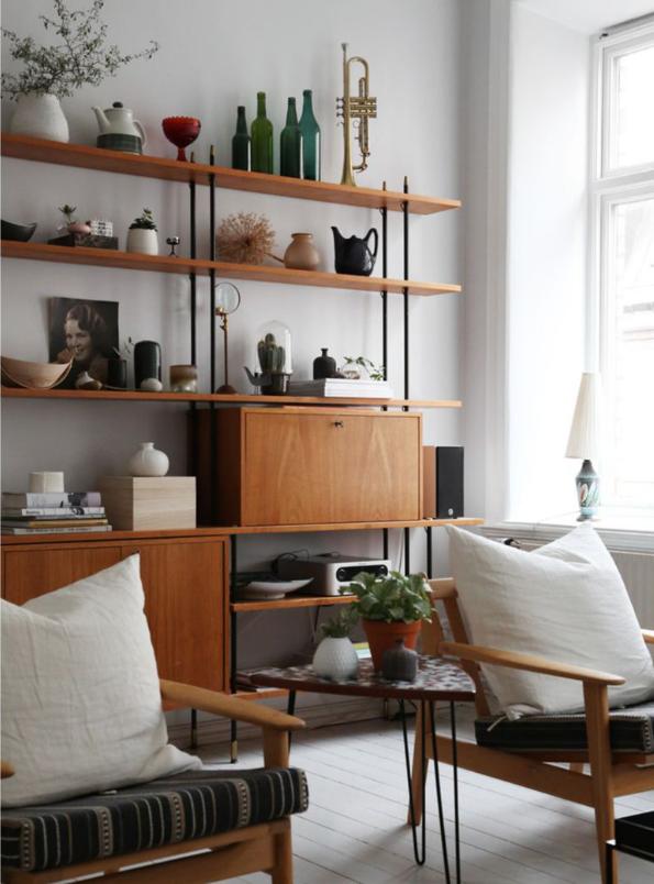 A sweet, serene Swedish interior