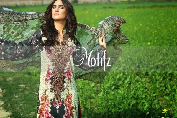 Motifz 2015 New Summer Lawn 2015 Collection