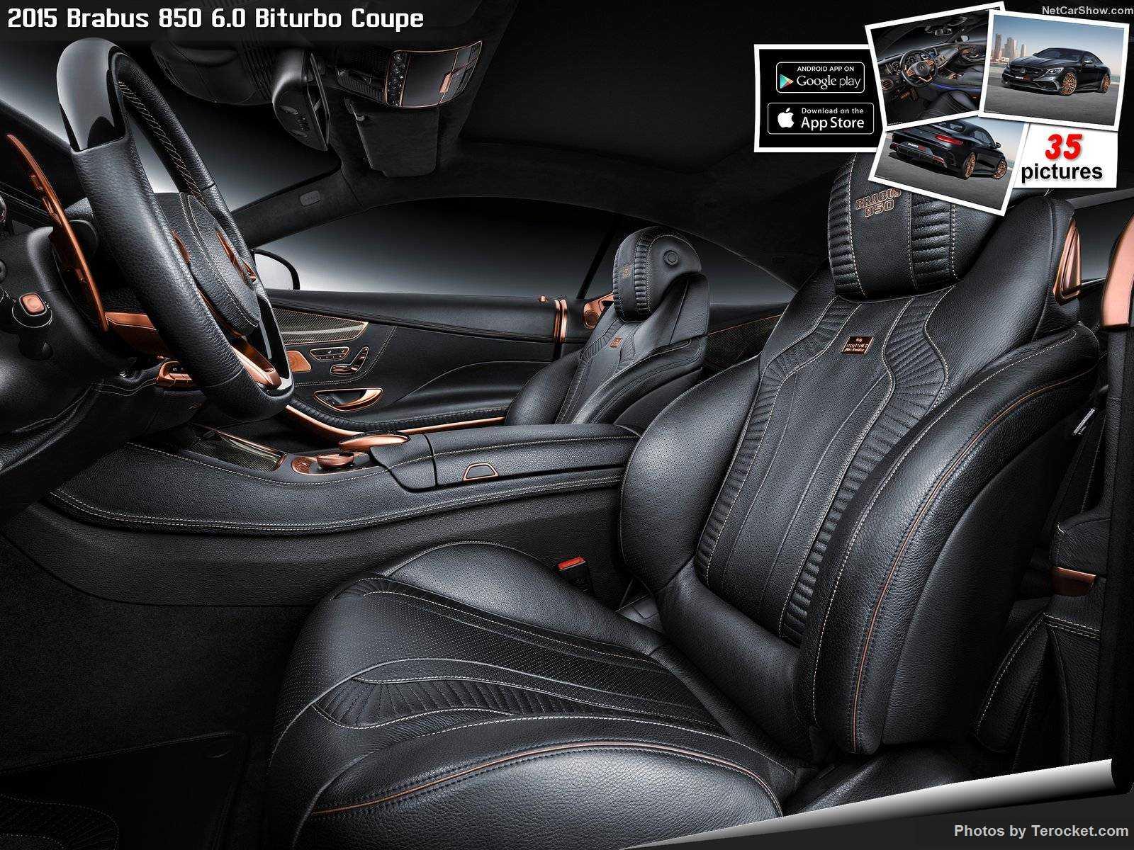 Hình ảnh xe ô tô Brabus 850 6.0 Biturbo Coupe 2015 & nội ngoại thất