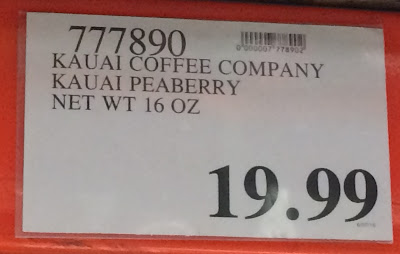 Deal for Kauai Coffee Company Peaberry Coffee at Costco