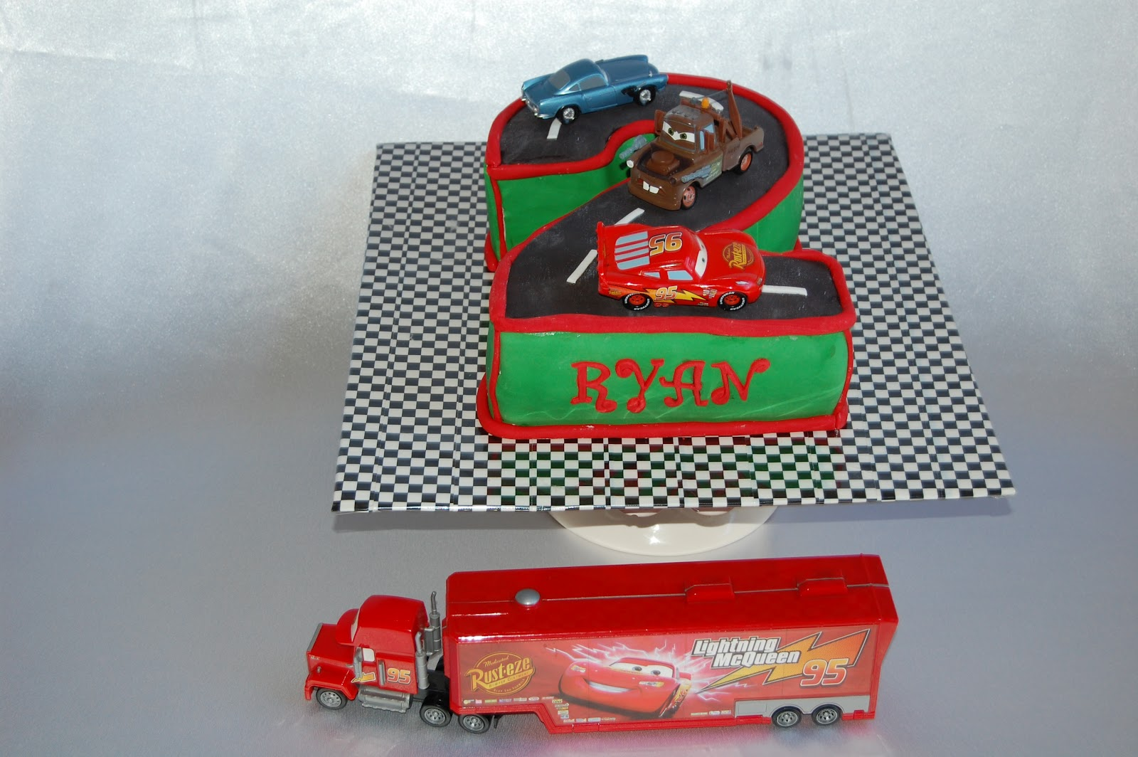 CUSTOMISED CAKES BY JEN Disney CARS Cake