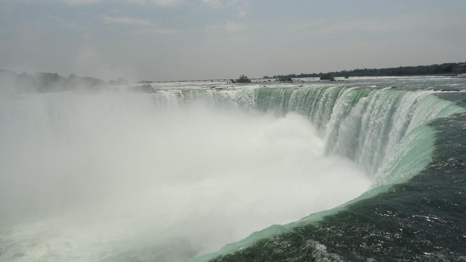 8 Feet Through Deserted Detroit To Niagara Falls