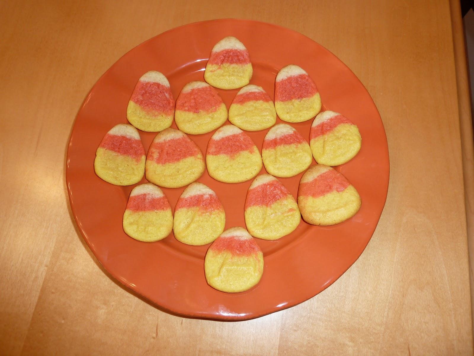 Room Mom Extraordinaire: Candy Corn Cookies