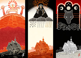 Три цвета славянской мифологии