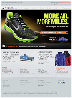 Click to view this Feb. 10, 2011 NikeStore email full-sized