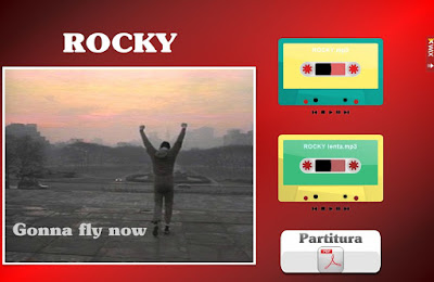 "Partituras Wix - ""Rocky"""