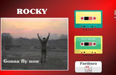 "Partituras Wix - ""Rocky"""