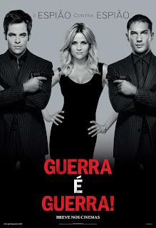 Pôster/capa/cartaz nacional de GUERRA É GUERRA! (This Means War)